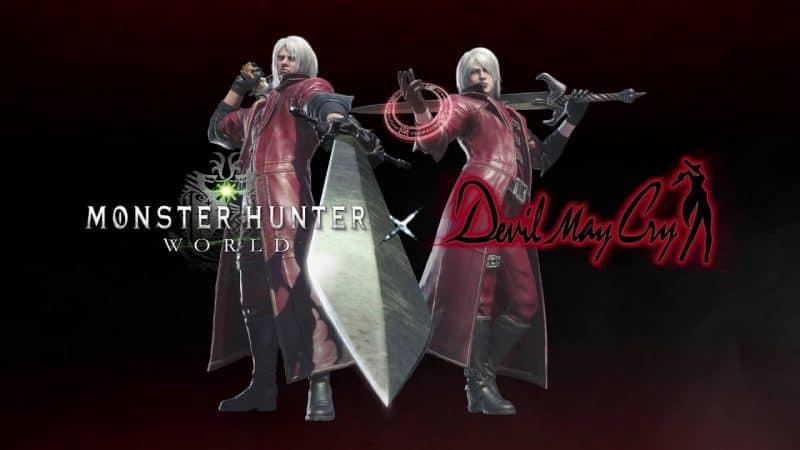 Capcom umukan 3 video kolaborasi Monster Hunter dengan DMC dan final fantasy